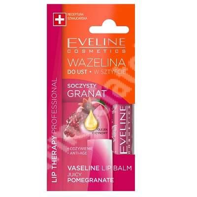 Strugurel cu rodie Lip Therapy, 3.8 g, Eveline Cosmetics
