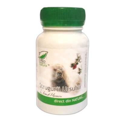 Strugurii Ursului, 60 capsule, Pro Natura