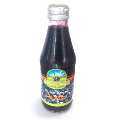 Suc ecologic de coacaze, 200 ml, Natural Health