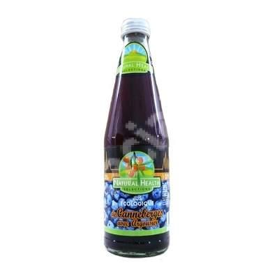 Suc ecologic din afine cu catina, 200 ml, Natural Health