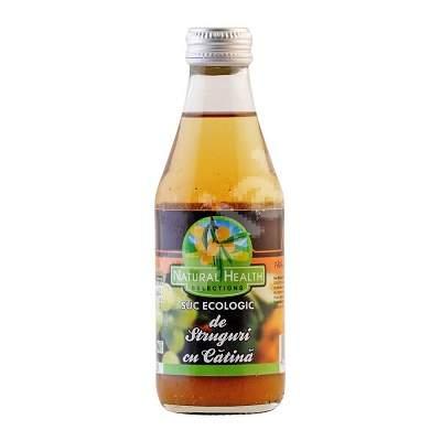 Suc ecologic din struguri si catina, 200 ml, Natural Health
