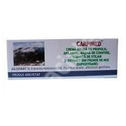 Supozitoare Carpimed, 10 bucati, Elzin Plant