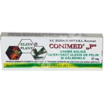 Supozitoare cu pelin, galbenele si conifere Conimed P, 1 g, Elzin Plant