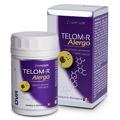 Telom-R Alergo, 120 capsule, Dvr Pharm