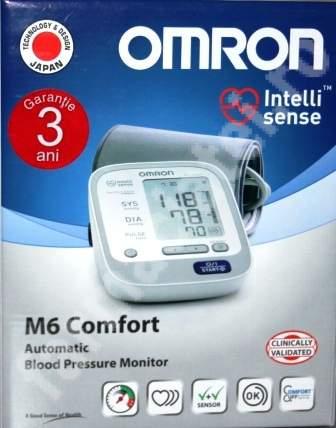 Tensiometru de brat automat M6 Comfort, Omron