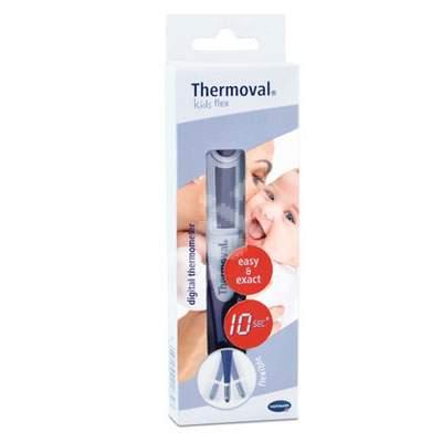 Termometru digital cu timp scurt de măsurare și cap flexibil Thermoval Kids Flex (925053), Hartmann