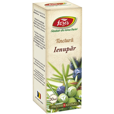Tinctură de Ienupăr, 30 ml, Fares