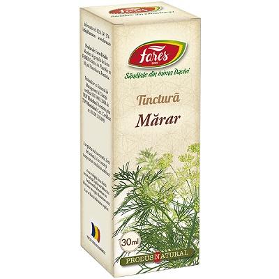 Tinctură de Mărar, 30 ml, Fares