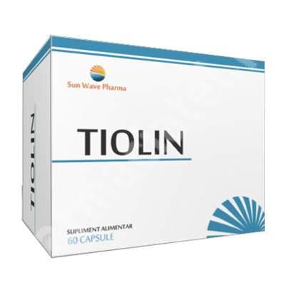 Tiolin, 60 capsule, Sun Wave Pharma