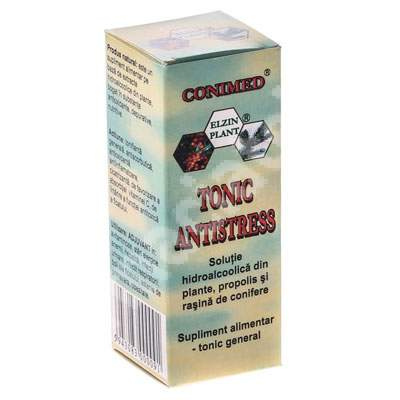 Tonic antistress, 50ml, Elzin Plant