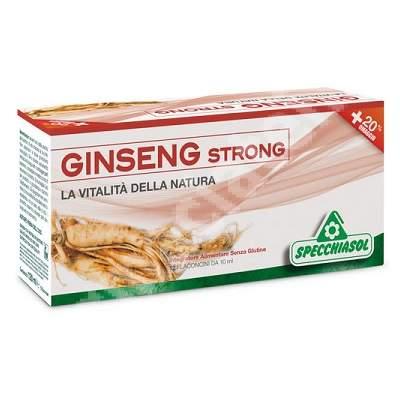 Tonic Ginseng Strong, 12 flacoane, Specchiasol