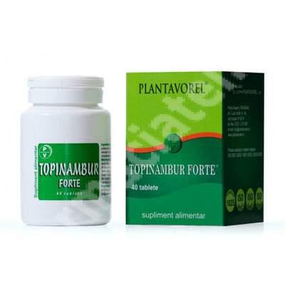 Topinambur Forte, 40 tablete, Plantavorel