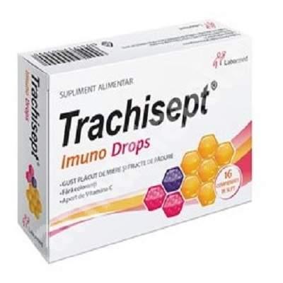Trachisept Imuno Drops, 16 comprimate, Labormed