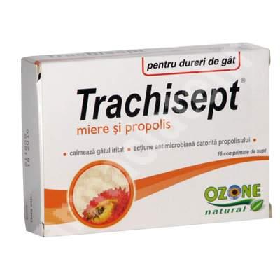 Trachisept miere si propolis, 16 comprimate, Ozone Laboratories