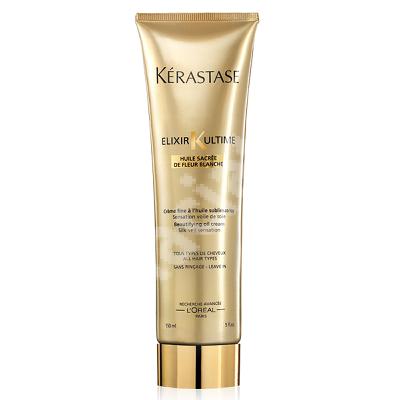 Tratament cremă leave-în pentru toate tipurile de păr Elixir Ultime Creme Fine, 150 ml, Kerastase