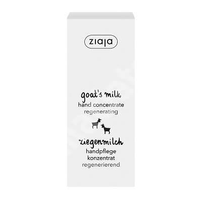 Tratament intensiv pentru maini cu lapte de capra, 50 ml, Ziaja