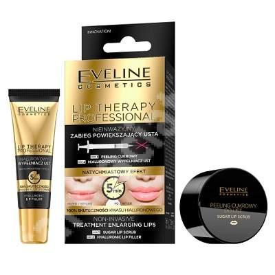 Tratament non-invaziv pentru volumul buzelor Lip Therapy, 7 ml + 12 ml, Eveline Cosmetics