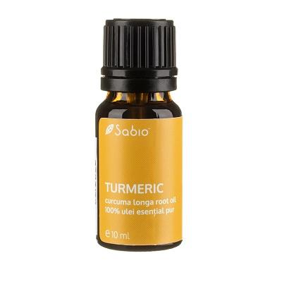 Ulei esențial de turmeric, 10 ml, Sabio