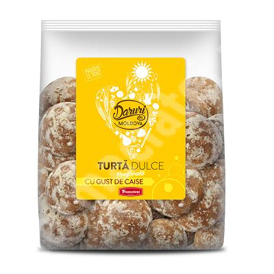 Turta dulce cu gust de caise Daruri din Moldova, 300 g, Franzeluta