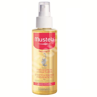 Ulei antivergeturi, Maternite, 105 ml, Mustela