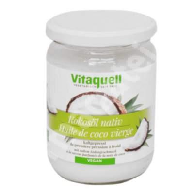 Ulei Bio extravirgin de nuca de cocos Ecologic, 400 g, Vitaquell