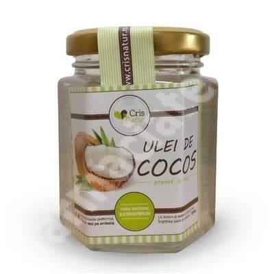 Ulei cocos presat la rece, 150 ml, CrisNatur