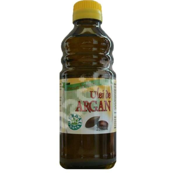 Ulei de Argan presat la rece, 250 ml, Herbavit