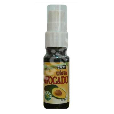 Ulei de avocado spray, 10 ml, Herbavit