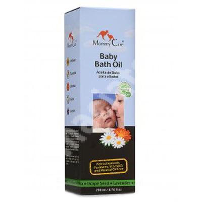 Ulei de baie pentru bebeluși, 200 g, Mommy Care