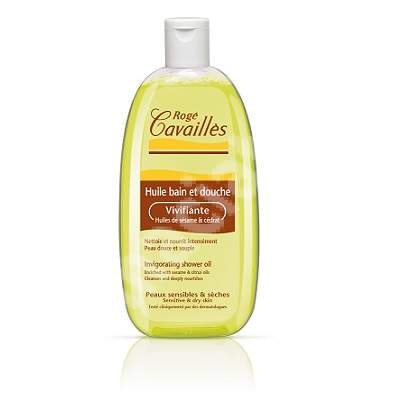 Ulei de baie si dus revigorant cu ulei de susan si citrice, 500 ml, Roge Cavailles