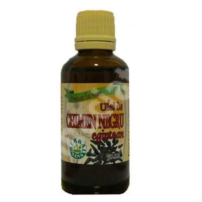 Ulei de chimen negru egiptean presat la rece, 50 ml, Herbavit