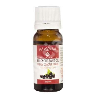Ulei de coacaze negre bio (M - 1055), 10 ml, Mayam