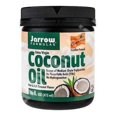 Ulei de cocos extra virgin Jarrow Formulas, 473 ml, Secom