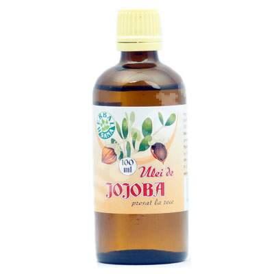 Ulei de Jojoba presat la rece, 100 ml, Herbavit