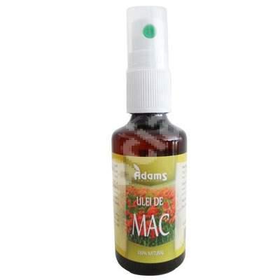 Ulei de Mac, 50 ml, Adams Vision
