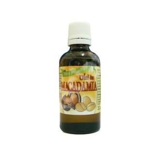 Ulei de Macadamia presat la rece, 50 ml, Herbavit