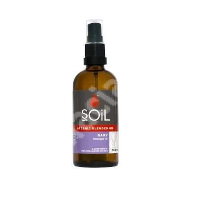 Ulei de Masaj Baby Pur Organic ECOCERT, 100 ml, SOiL