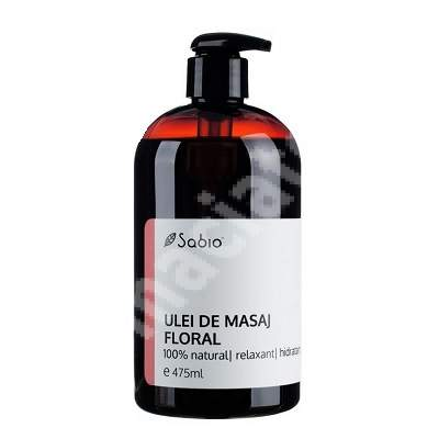 Ulei de masaj floral, 475 ml, Sabio