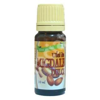 Ulei de Migdale dulci presat la rece, 10 ml, Herbavit