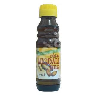 Ulei de Migdale dulci presat la rece, 100 ml, Herbavit