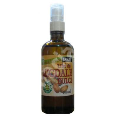 Ulei de Migdale dulci presat la rece spray, 100 ml, Herbavit