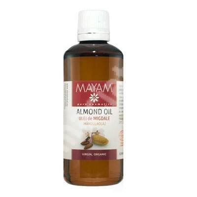 Ulei de migdale dulci virgin organic (M-1269), 100 ml, Mayam