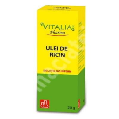Ulei de ricin, 20 g, Vitalia