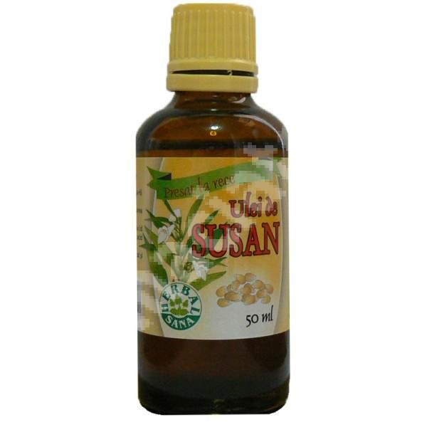 Ulei de Susan presat la rece, 50 ml, Herbavit