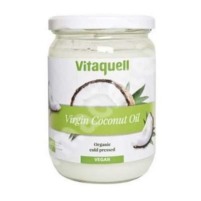 Ulei ecologic extravirgin de nuca de cocos, 800 g, Vitaquell