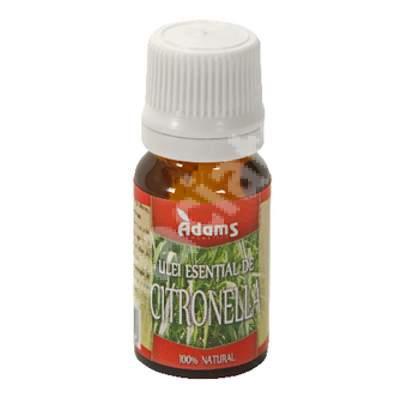 Ulei esential de Citronella, 10 ml, Adams Vision