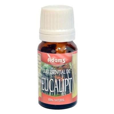 Ulei esential de Eucalipt, 10 ml, Adams Vision