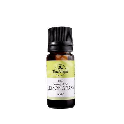 Ulei esential de Lemongrass, 10 ml, Trio Verde