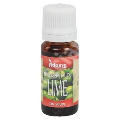 Ulei Esential de Lime, 10 ml, Adams Vision