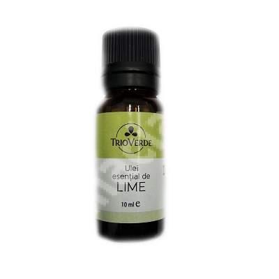 Ulei esential de Lime, 10 ml, Trio Verde